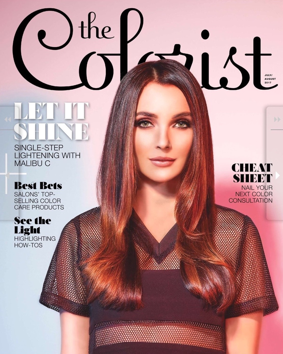 The colorist foilbox magazine article