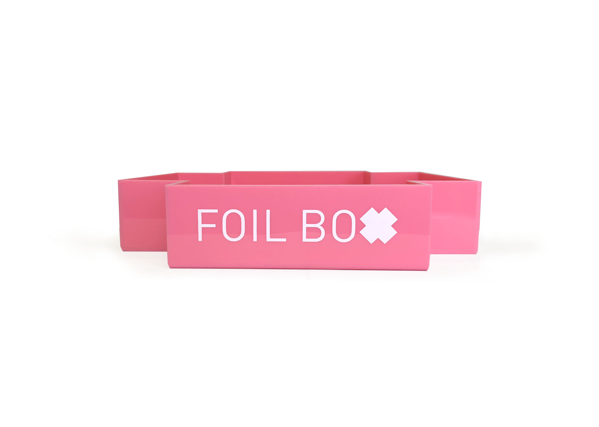 Pink foilboxes are now available